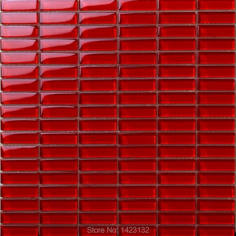 crystal glass tile backsplash red glass mosaic tile strip 663 kitchen backsplash tiles crystal mosaic glass patterns wahsroom