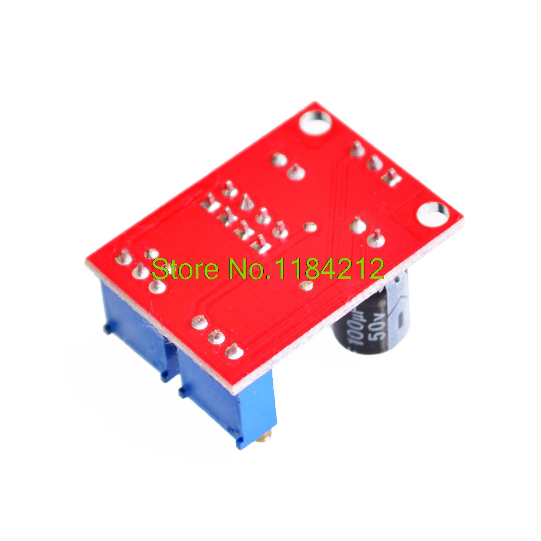 Buy Ne555 Pulse Frequency Duty Cycle Adjustable 555 Timer And Calculator Module Square Wave Signal Generator From Reliable Suppliers On Super Seller For