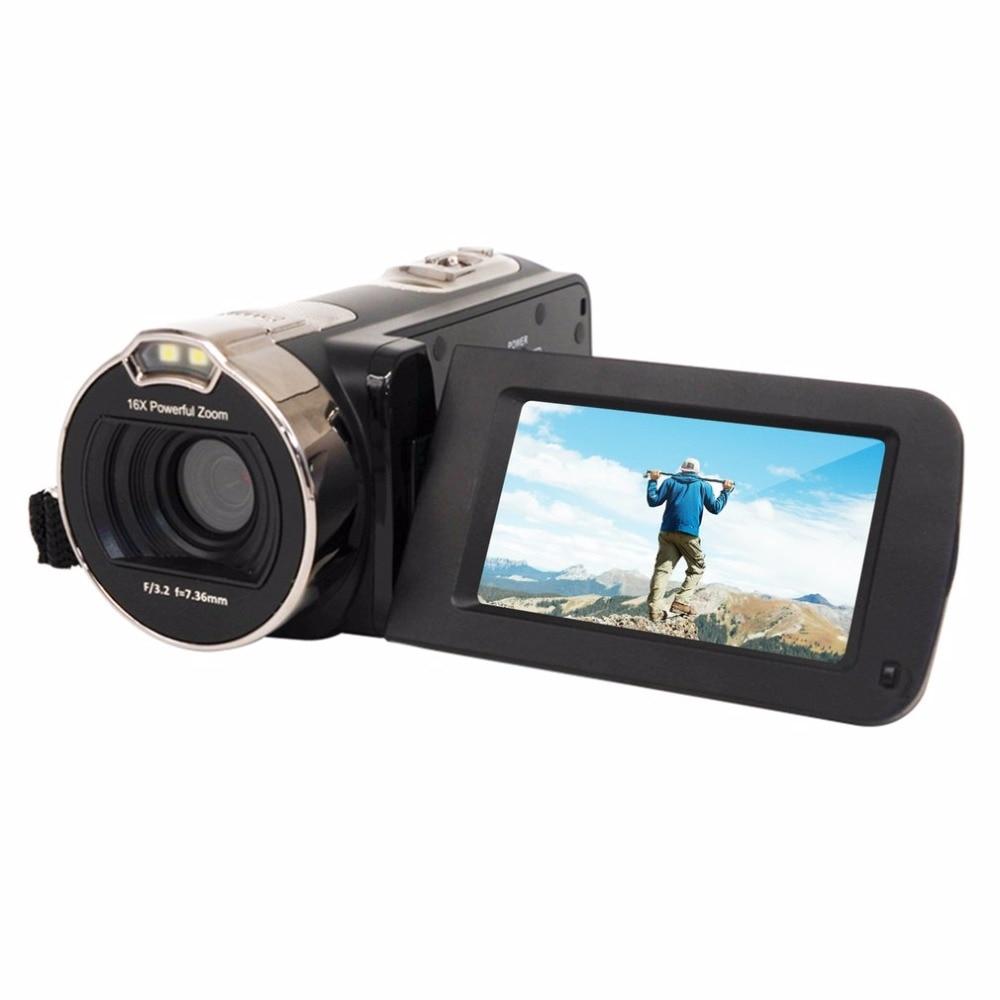 2.7 Inch Rotation Screen Full HD 1080P Digital Video Camera 16X Digital Zoom 24MP Portable Home Use Camcorder2.7 Inch Rotation Screen Full HD 1080P Digital Video Camera 16X Digital Zoom 24MP Portable Home Use Camcorder