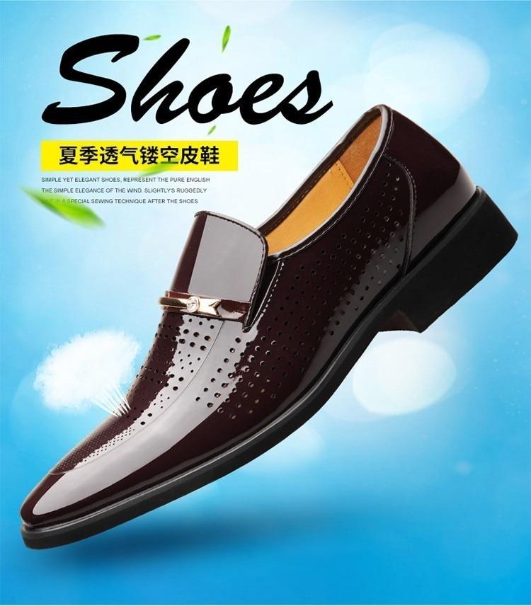 Passer Frais Noir 2018 Hommes Son Très Mode Respirant Plus chocolat D'été Chaussures Zhengou 2119 En De Le Sur Cuir Chaud À Nouveau 4qRZRU