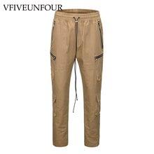 VFIVEUNFOUR 2019 New Arrivals Vintage pants street wear hip hop Multi-Pockets joggers cargo men trousers High Street