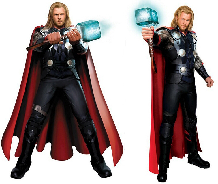The Avengers Thor Odinson cosplay costumes adult custom made Superhero Halloween costumes for adult men women
