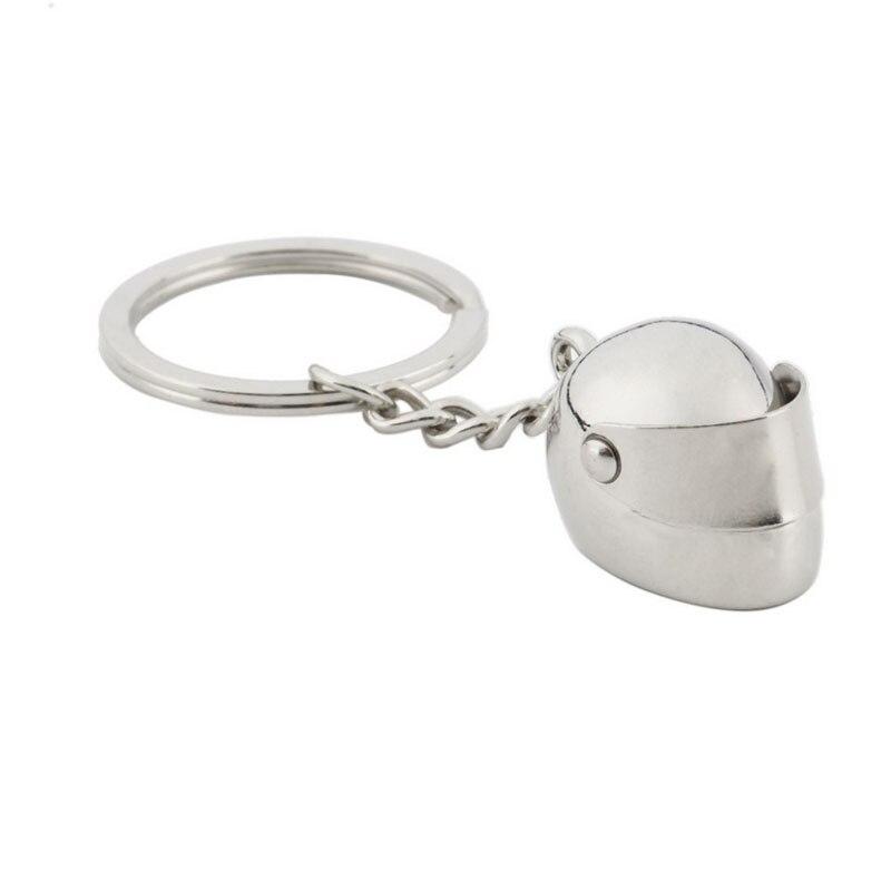 Car Motorcycle Bike Helmet Key Chain Ring Keychain Keyring Key Fob New Fashion