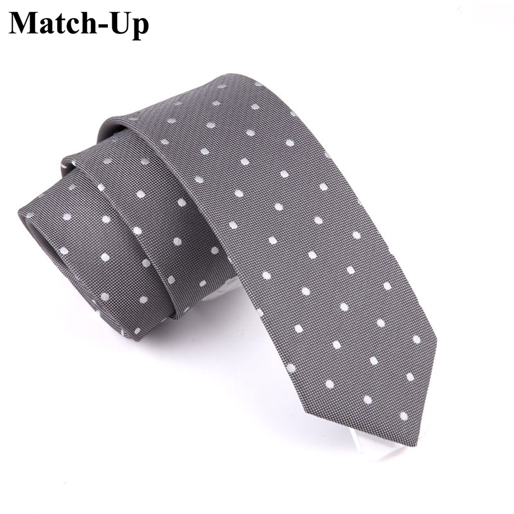 2016 new Men's fashion tie 6CM were thin gray tie mature business career 3