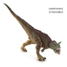 Jurassic World Park Dinosaur Toys Model Carnotaurus Dilophosaurus Velociraptor PVC Action Figure Mandible Movable Dinosaurs Gift