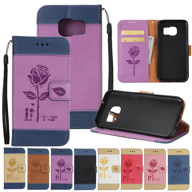 Luxury <font><b>Case</b></font> For samsung galaxy <font><b>s7</b></font> g930f Cover <font><b>Flip</b></font> PU Leather+Protective Silicone Back Cover for samsung <font><b>s7</b></font> <font><b>edge</b></font> g935 <font><b>Case</b></font> <font><b>Phone</b></font>