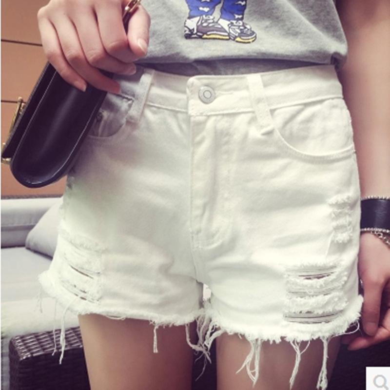 Online Get Cheap Denim White Shorts -Aliexpress.com | Alibaba Group