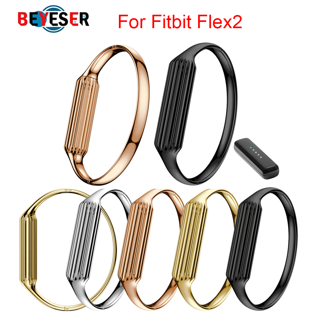 Wrist Band Watch Strap For Fitbit Flex 2 Watchbands Stainless Steel Accessory Premium Materials Strap for Fitbit Flex2 Watchand