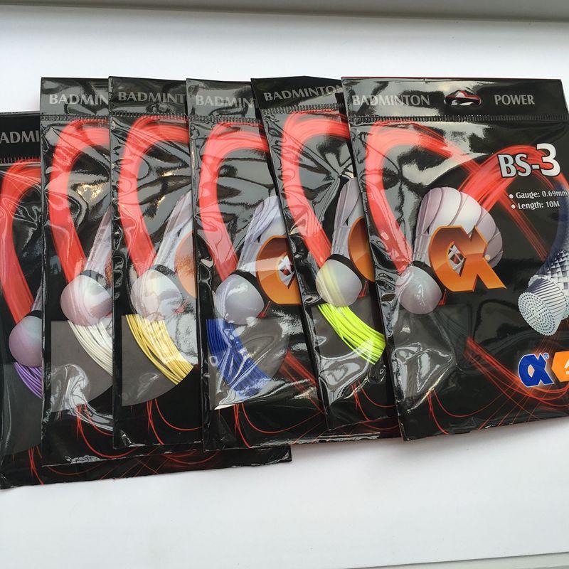 60 pieces BS3 Badminton strings , power strings for badminton racket ABS3