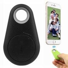 Smart Wireless Bluetooth Tracer 4.0 GPS Locator Alarm Mini Tag Anti Lost Itag Alarm for Wallet Key Pet Dog iPhone 7 Smart Finder