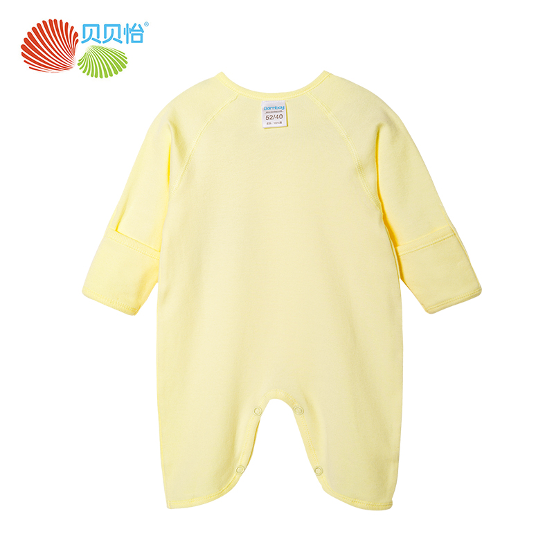 Bornbay Newborn baby clothes 100% cotton long sleeve rompers toddle infant roper baby boy girl jumpsuit pajamas baby clothing