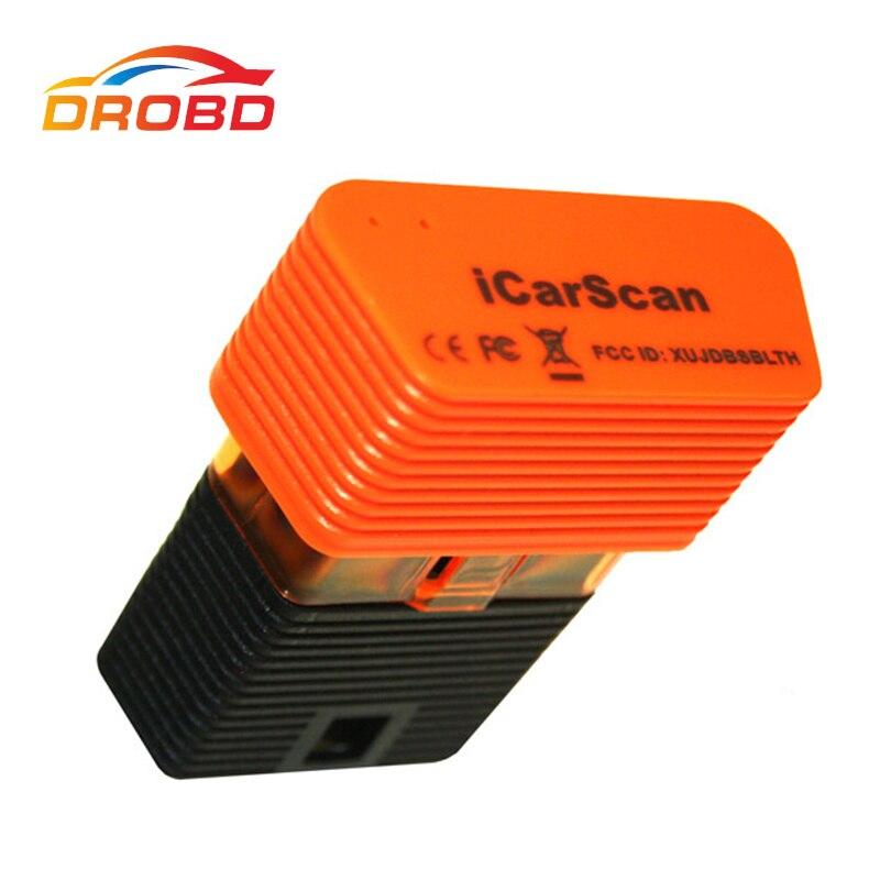 100% D'origine LANCEMENT ICARSCAN Outil De Diagnostic avec 10 Livraison De Voiture Logiciel ICAR SCAN X431 IDIAG VpeckerEasydiag m-diag lite
