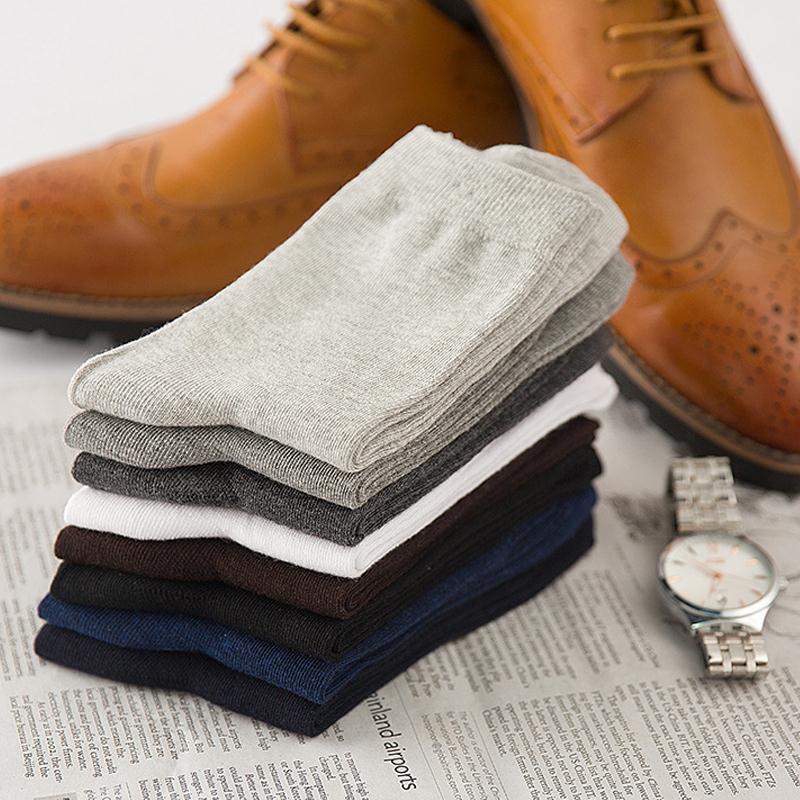 City Class 2018 New High Quality Men Brand Socks Fashion Mens Socks Cotton 100% Multi Color Male Socks 5 Pairs Free Shipping