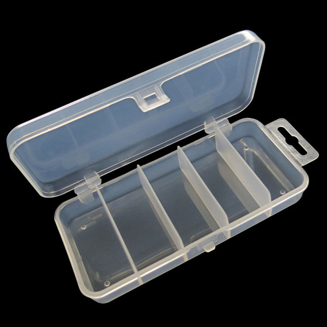 Free Shipping New Adjustable Plastic Organizer 5 Compartment Storage