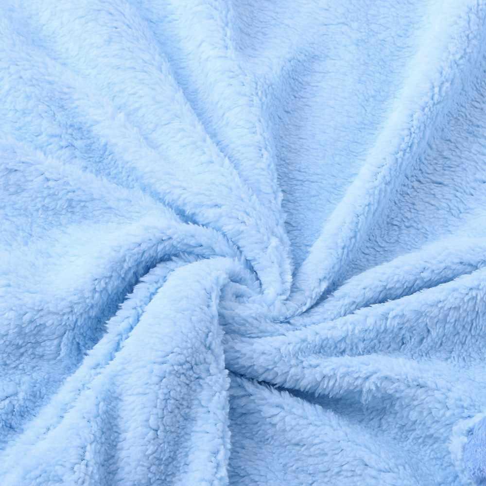 LONSANT ผ้าห่มเด็กทารกแรกเกิด Warm Warm Flannel รถเข็นเด็กทารกเด็กหญิงนุ่ม Swaddling ฤดูหนาว comfy Bedding