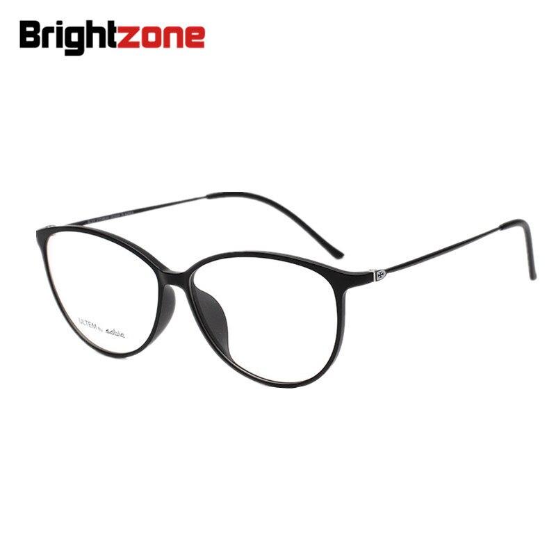 f1b7438f9f5 Ultra Light Women Cat Eye Glasses Frame Tungsten Plastic Steel Quality  Simple Style Optical Eyewear can Fill Prescription Lenses-in Eyewear Frames  from ...