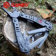 Ganzo Knife G302B Multi Tool Plier EDC Ganzo Tools Folding Plier Multitools Fishing Plier 26 in 1 Multifunction Tungsten Cutter