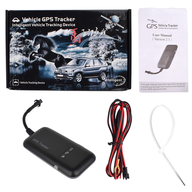Mini Portable Gps Tracker Gsm Gprs Locator Real Time Tracking