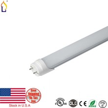 15pcs/lot stock in USA UL DLC T8 LED Tube Light 18W 4ft SMD2835 AC100-277V Replacement G13 Lampada Led Fluorescent Bulb