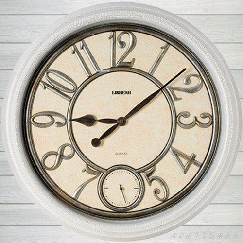 large living room wall clock watch with stopwatch double movement and creative wall clock. Black Bedroom Furniture Sets. Home Design Ideas