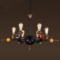 Nordic Pendant Lights Billiard For Modern Hanging Lamp Wooden Aluminum Lampshade LED Bulb Bedroom Kitchen Light 90 260V E27
