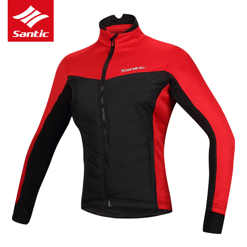 Santic Women Cycling Jacket Winter Fleece Thermal Sport Mountain Road Bike Jacket Windproof Warm Bicycle Jacket Maillot Ciclismo цена