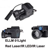 Airsoft eLLM01 Softair Tactical Flashlight NEW VERSION Led Laser IR Infrared Military Led Light Rifle EX214 (Fully functional)