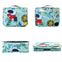 Large-capacity Cosmetic Storage Bag Hand-held Hook Bags For Travel Durable Waterproof Tear-resistant