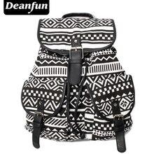 Deanfun Exclusive Handmade Vintage Rucksack Printing Canvas Women Backpack Mujer Mochila Escolar Feminina School Bag Sac a Dos #