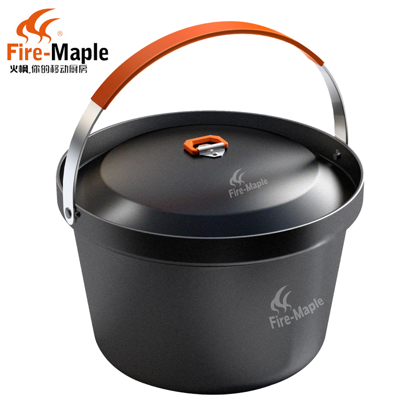 Fire Maple SY Feast Rice Cooker 3L Outdoor Camping or Picnic Portable 4-6 People Big Pot with Handle Non-stick  Easy-cleaning right oven handle or industrial steam rice cooker handle with sector shape lock tongue