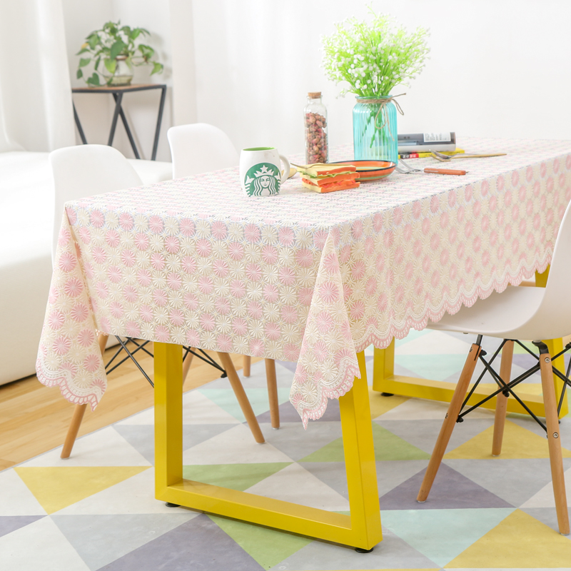 Simple Modern Waterproof Disposable Tablecloths Anti Hot