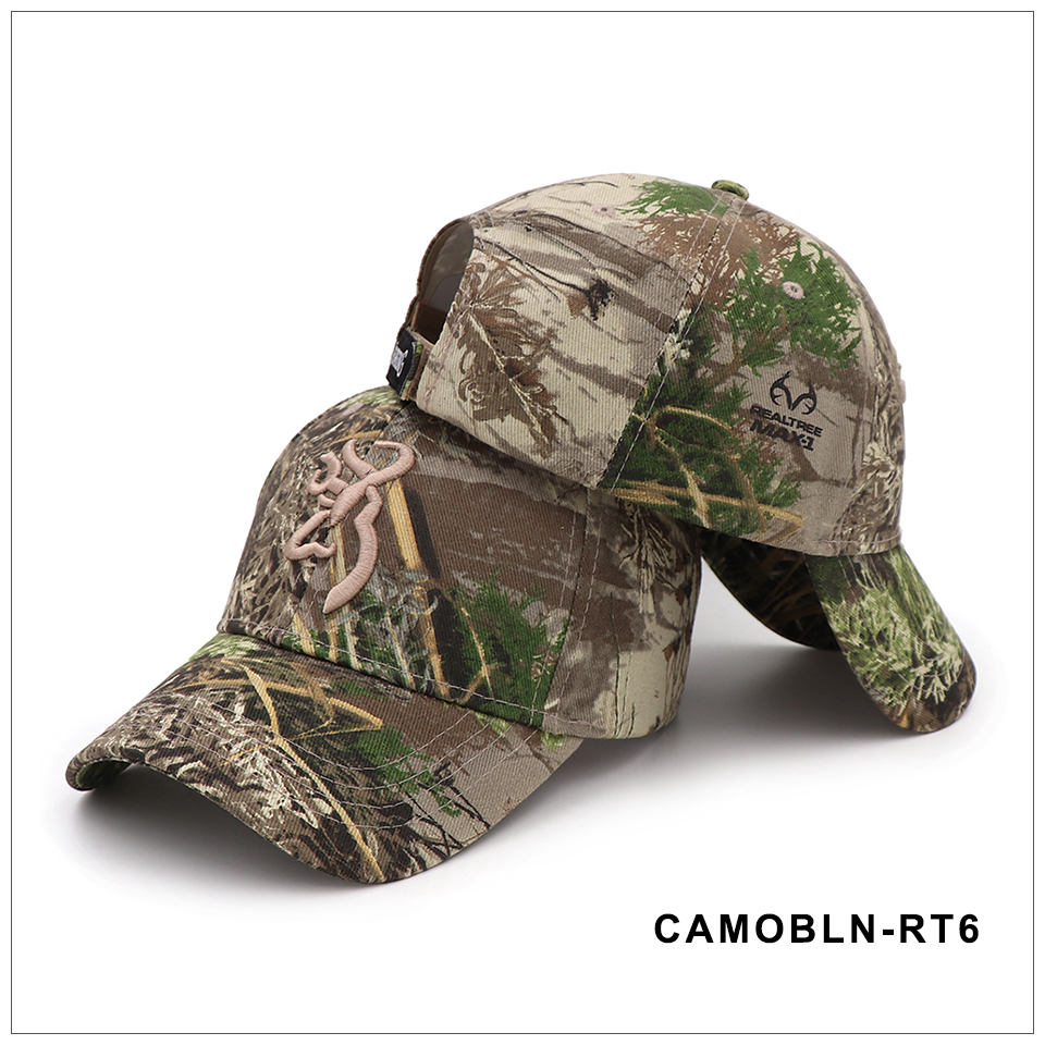 CAPSHOP 2020 New Camo Baseball Cap Fishing Caps Men Outdoor Hunting Camouflage Jungle Hat Airsoft Tactical Hiking Casquette Hats 6