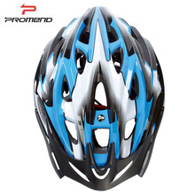 PROMEND Bicycle Helmet MTB Road Bike Cycling Safety Helmets 21 Vents Adjustable Ultralight LED Warning Lights