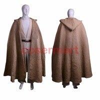 Star Wars Cosplay Kenobi Jedi Deluxe Version Halloween Costumes