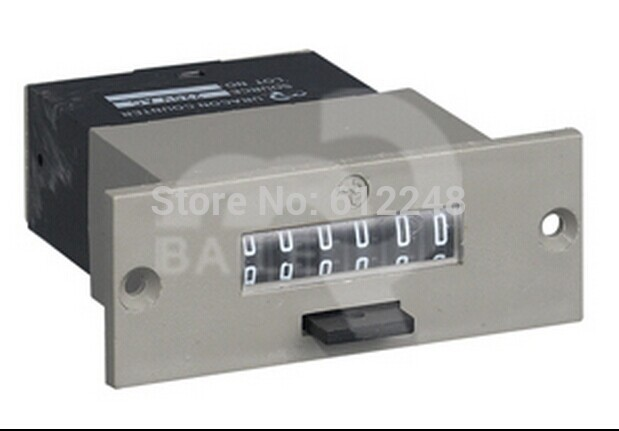 LFC-6 LFC-6S Электромагнитная Счетчик совокупный счетчик электронный счетчик Граф 6 цифровой