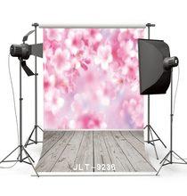Rosa flor florescendo piso de madeira fotográfico background vinil foto fundos para estúdio foto do bebê photophone