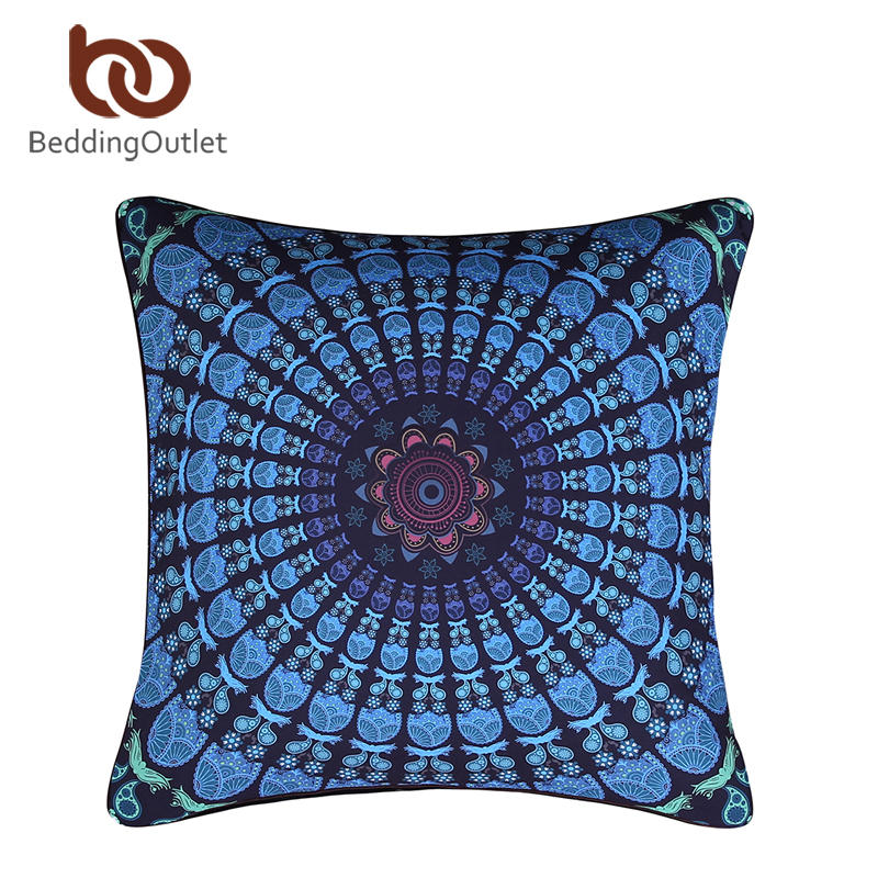 BeddingOutlet Moonlight Cushion Cover Bohemia Home Textiles for Living Room Qualified Boho Pillowcase 1Pc 2 Sizes On Sale