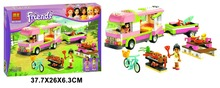 Bela 10168 Friends Series Adventure Camper Minifigures Building Block Minifigure Toys Best Toys