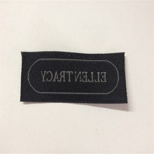 Free shipping Customized Garment Woven Label hIGH Density