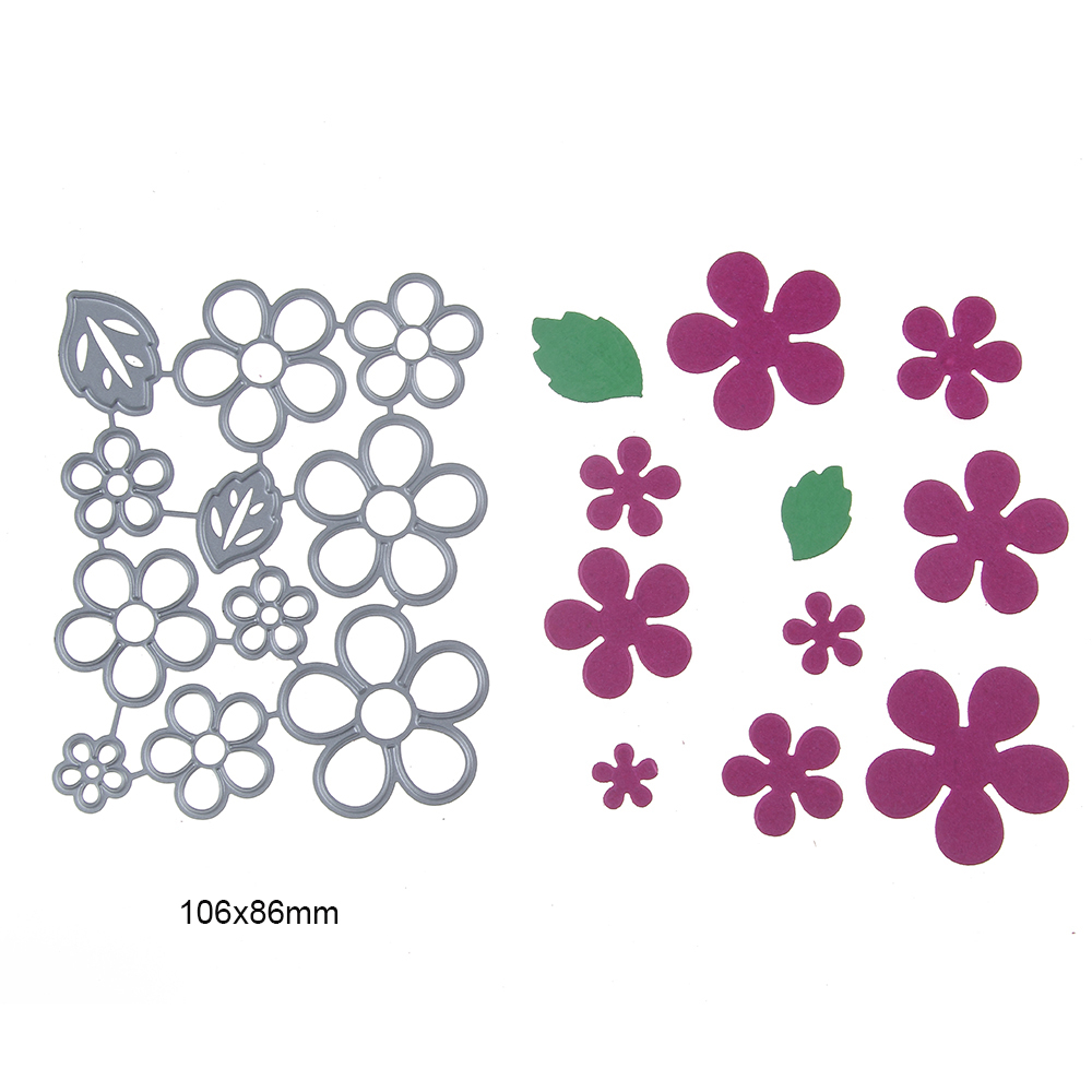 106-86mm-lower-Leaf-Cut-Dies-Embossing-Steel-Cutting-Dies-Stencils-DIY-Scrapbooking-Card-Album-Photo
