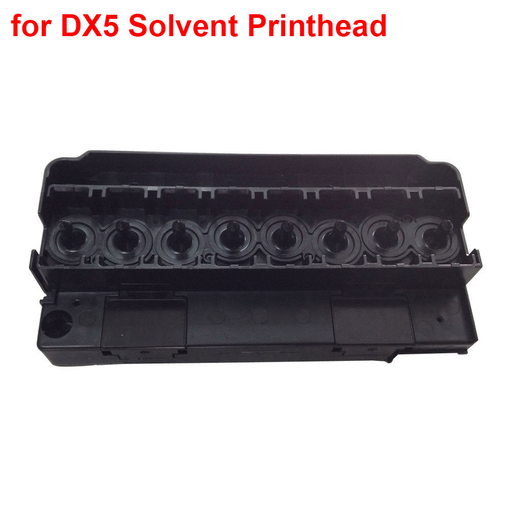 DX5 Solvent Printhead Manifold/Adapter For Epson R1900/R2880/R2000/4880/4450  for Mimaki /for Mutoh printhead manifold 1 piece lot 160 110 90mm grey abs plastic ip65 waterproof enclosure pvc junction box electronic project instrument case