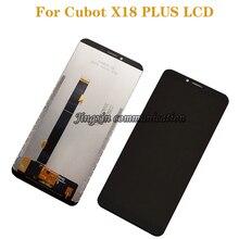 """Cubot X18 artı dokunmatik LCD ekran ekran dijital dönüştürücü 5.99 """"Cubot X18 artı cep telefonu ekran aksesuarları"""