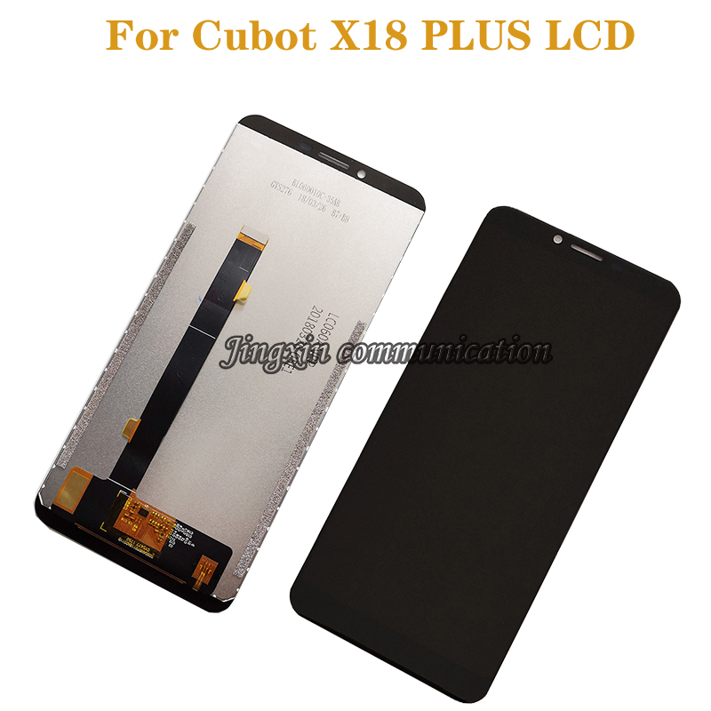 """Suitable for Cubot X18 Plus LCD + Touch Screen Digital Converter 5.99"""" for Cubot X18 Plus mobile phone screen accessories+tools-in Mobile Phone LCD Screens from Cellphones & Telecommunications"""