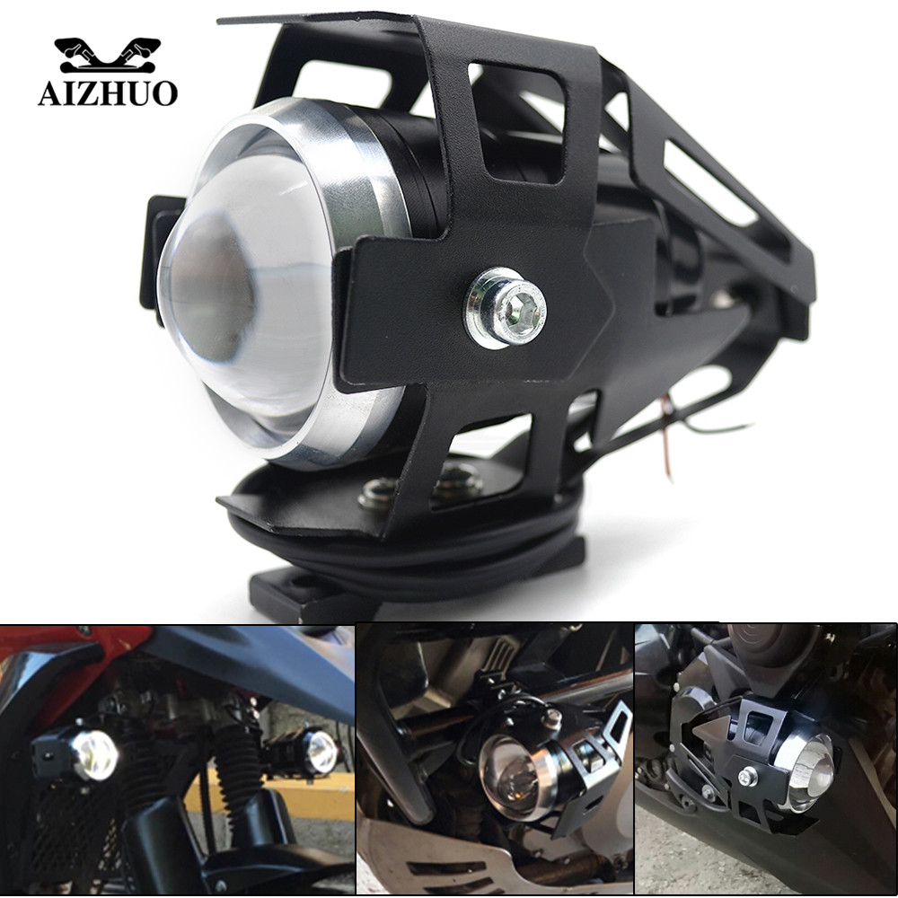 U5 <font><b>LED</b></font> Transform Spotlight Motorcycle <font><b>Headlight</b></font> for Kawasaki z1000 er6n z750 z800 z900 <font><b>ninja</b></font> <font><b>300</b></font> versys 650 zx10r z650 z1000sx image