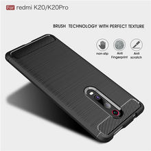 For Xiaomi Redmi K20 Pro Note 5 6 7 6A 7A Case Carbon Fiber