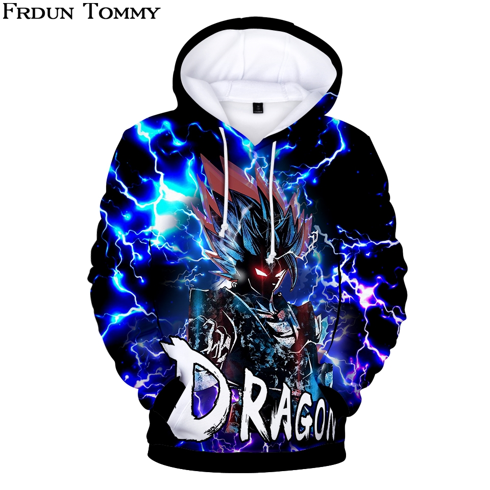 3D Dragon Ball Autumn/winter Hoodies Sweatshirts Stereoscopic New Style Harajuku Outwear Cool Casual Sweatshirt