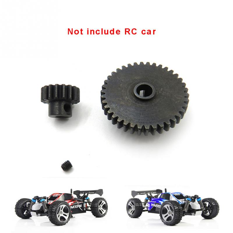 Metal Upgrade Parts Motor Pinion Gear Reducer Set for Wltoys A949 A959 A969 A979 K929 RC Car Spare Accessories front diff gear differential gear for wltoys 12428 12423 1 12 rc car spare parts