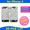 FREE DHL X 50 PCS LOT Chassis for iPhone 4 4G Middle Frame Bezel Midframe Housing Replacement Parts