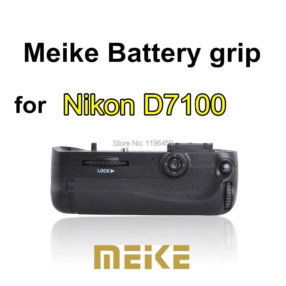 Meike MK D7100 Multi function Vertical Battery Grip Holder for Nikon DSLR D7100 D7200 Camera in free shipping
