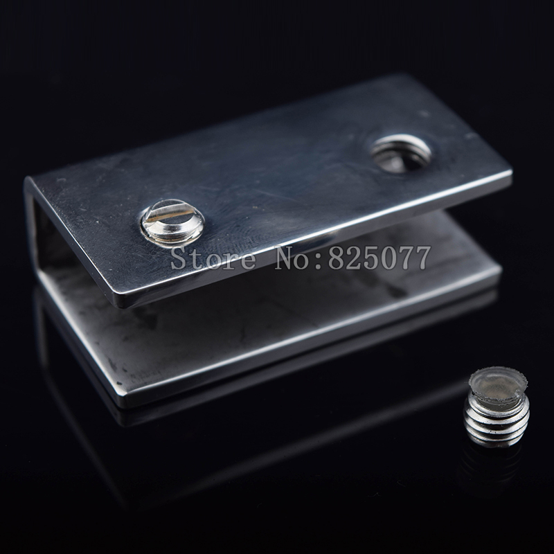 Dhl Wholesale 100pcs Adjustable Glass Shelf Brackets